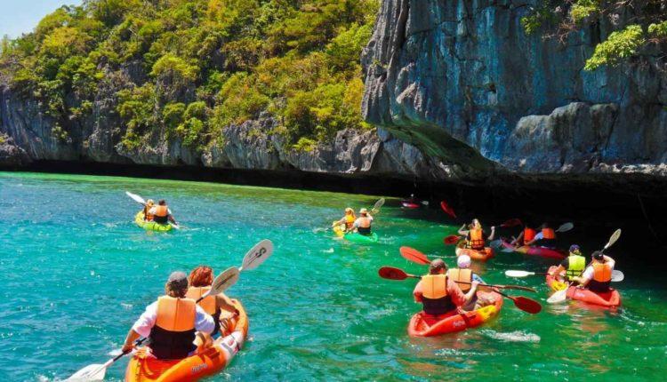 Nacionalnyj morskoj park v Tailande