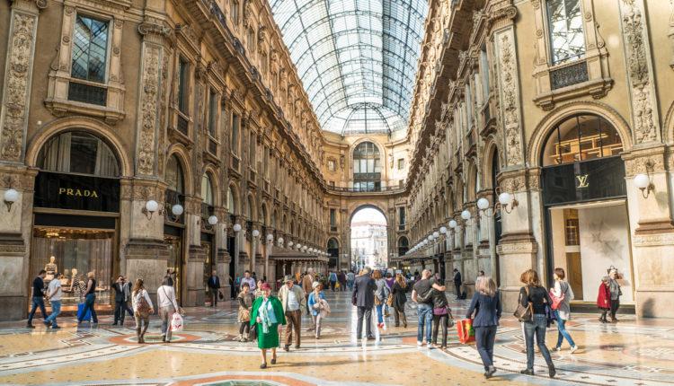 butiki v Milane