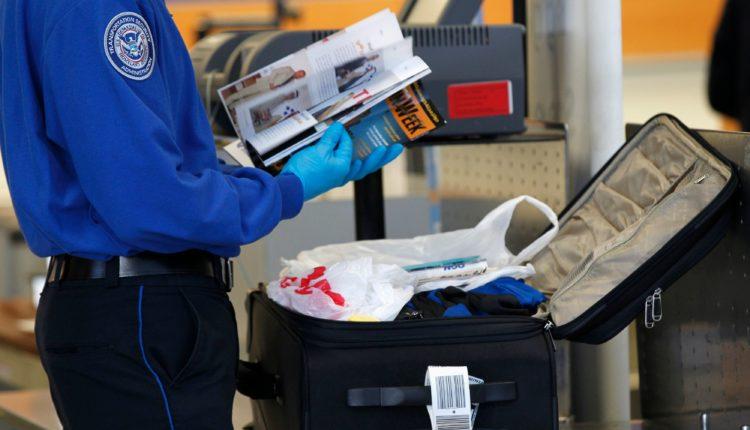dosmotr sumki v aeroportu