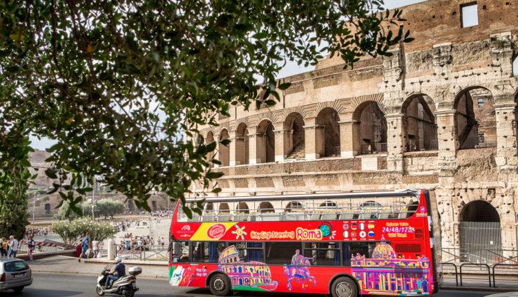 ekskursionnyj avtobus v Italii Hop on Hop off