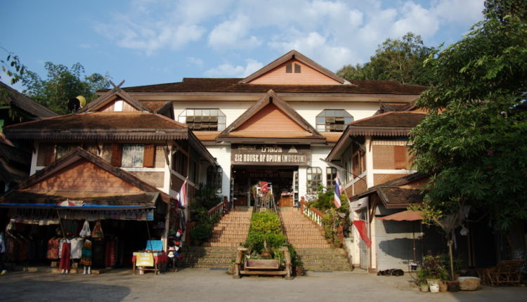 muzej opiuma v Tailande