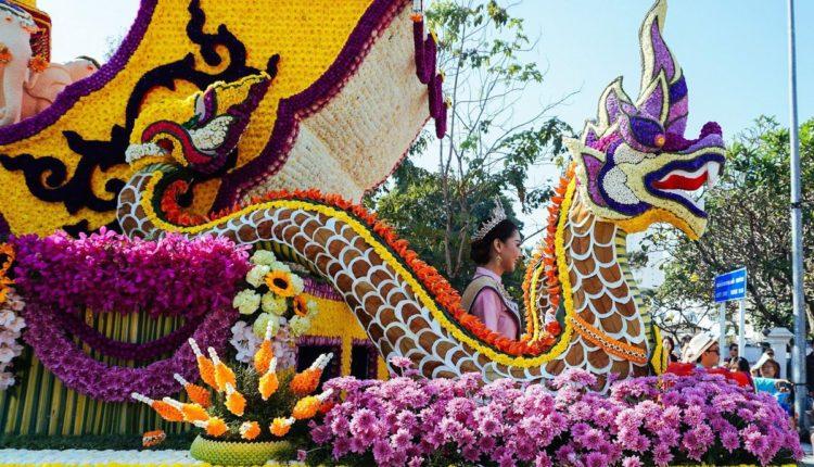 prazdnik cvetov v Tailande