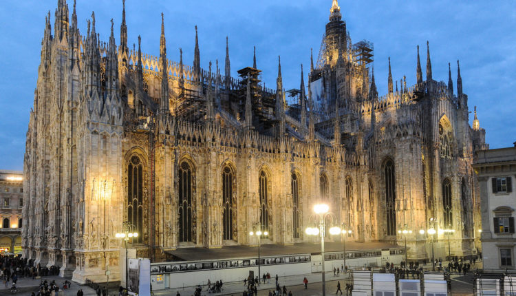 sobor Duomo v Milane