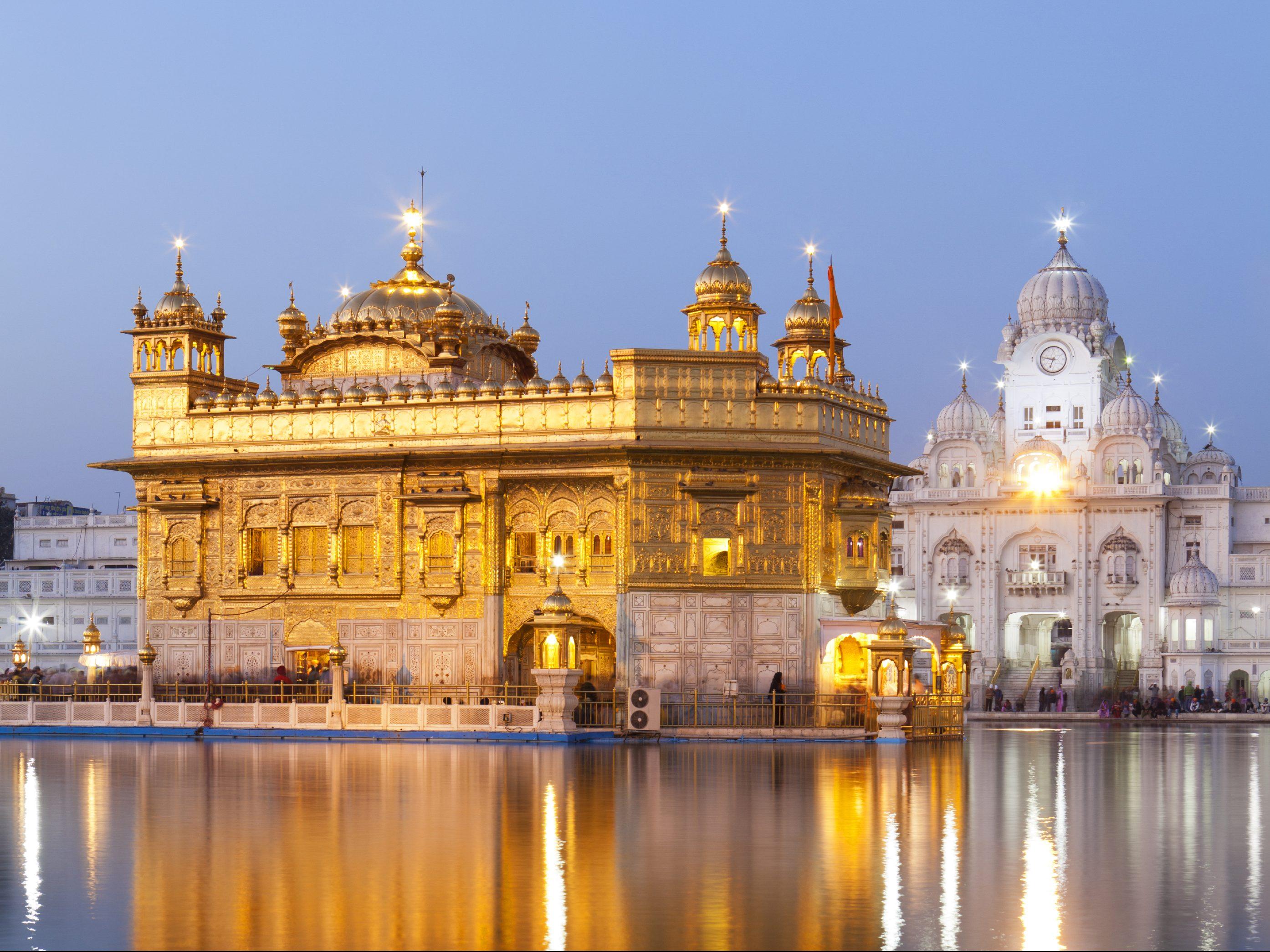 фото индия золотой дворец двери классическом стиле