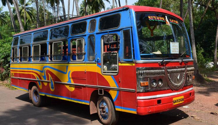 avtobus v Indii