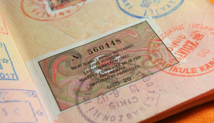 viza v Turciju